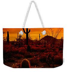 A Red Desert  Weekender Tote Bag