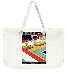 A Reflecting Pool And Garden Weekender Tote Bag