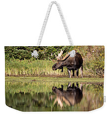 A Reflective Mood Weekender Tote Bag