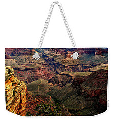A River Runs Through It-the Grand Canyon Weekender Tote Bag