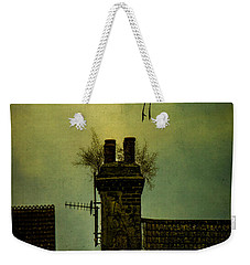 Weekender Tote Bag featuring the photograph A Room For The Night by Chris Lord