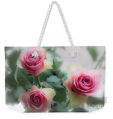 A Rose And A Rose And A Rose Weekender Tote Bag