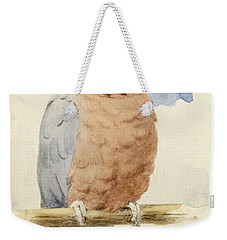 A Rose Breasted Cockatoo Weekender Tote Bag by Henry Stacey Marks