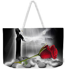 A Rose For Whitney - Fantasy Art By Giada Rossi Weekender Tote Bag