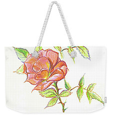A Rose In Brigadoon Weekender Tote Bag