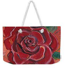 A Rose Is A Rose Weekender Tote Bag by John Keaton