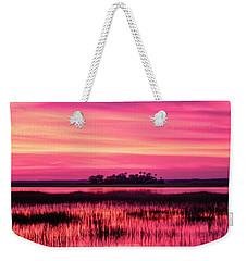 A Saint Helena Island Sunset Weekender Tote Bag