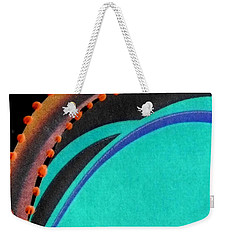 Sea Green Weekender Tote Bag
