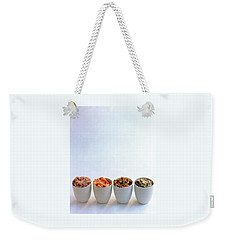 A Selection Of Spreads Weekender Tote Bag