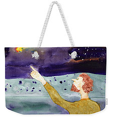 A Sighting Weekender Tote Bag