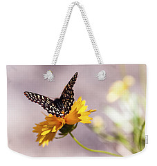 A Sip Of Coreopsis Weekender Tote Bag by Caitlyn  Grasso