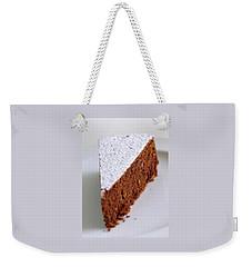 A Slice Of Chocolate Raspberry Ganache Cake Weekender Tote Bag