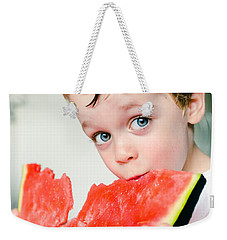 A Slice Of Life Weekender Tote Bag by Marco Oliveira