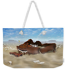 A Slow Death In Piano Valley Weekender Tote Bag