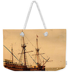 A Small Old Clipper Ship Weekender Tote Bag