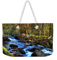 A Smoky Mountain Autumn Weekender Tote Bag