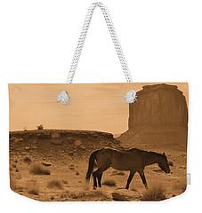 A Solitary Soldier Weekender Tote Bag by Nadalyn Larsen