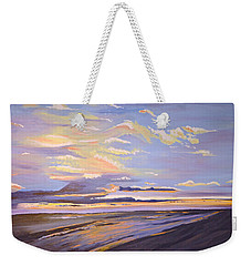 A South Facing Shore Weekender Tote Bag by Donna Blossom