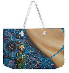 A Spelunkers Search For Life Weekender Tote Bag