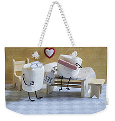A Spoonful Of Sugar Weekender Tote Bag by Heather Applegate
