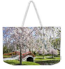 A Spring Walk Weekender Tote Bag