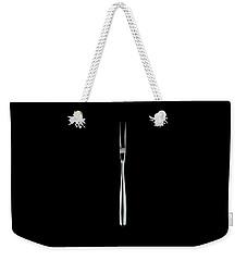 A Stainless Steel Fork Weekender Tote Bag