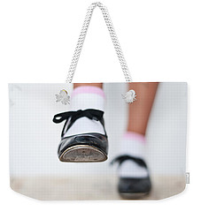 Old Tap Dance Shoes From Dance Academy - A Step Forward Tap Dance Weekender Tote Bag