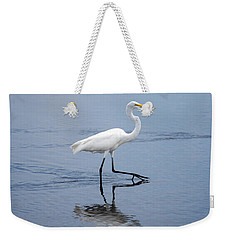 Weekender Tote Bag featuring the photograph A Stroll In The Marsh by John M Bailey