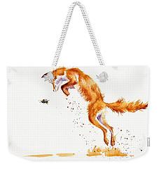 A Summer Jumper Weekender Tote Bag