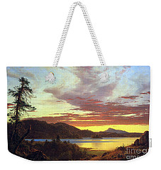 A Sunset By Frederick Edwin Church Weekender Tote Bag