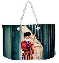 A Swiss Guard Weekender Tote Bag