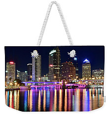 A Tampa Bay Night Weekender Tote Bag