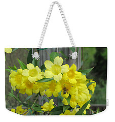 A Taste Of Yellow Weekender Tote Bag by Arlene Carmel