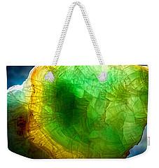 A Thin Slice Of Rock Weekender Tote Bag by John Haldane