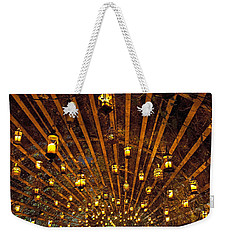 A Thousand Candles - Tunnel Of Light Weekender Tote Bag