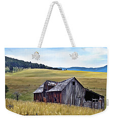 A Time In Montana Weekender Tote Bag