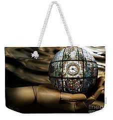 A Times Droplet Meditation Weekender Tote Bag by Rosa Cobos