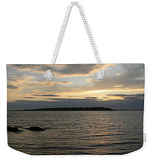 Weekender Tote Bag featuring the photograph A Touch Of Gold by Jean Goodwin Brooks