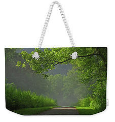 A Touch Of Green Weekender Tote Bag
