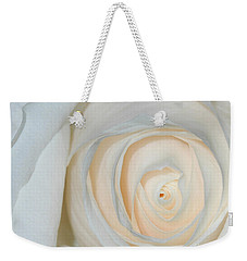 A Touch Of Peach Weekender Tote Bag