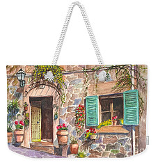 A Townhouse In Majorca Spain Weekender Tote Bag