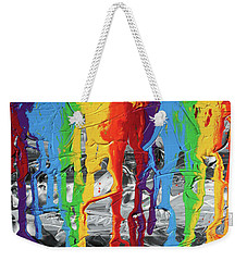 A Triumph Of Color Weekender Tote Bag
