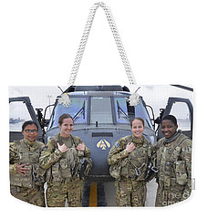 A U.s. Army All Female Crew Weekender Tote Bag