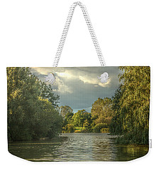A View Down The Lake Weekender Tote Bag