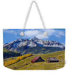 A View From Last Dollar Road Weekender Tote Bag