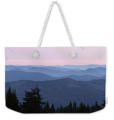 A View From Timberline Weekender Tote Bag