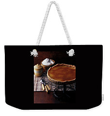 A Vinegar Pie On A Wire Stand Weekender Tote Bag