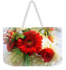 A Vision In Red Weekender Tote Bag