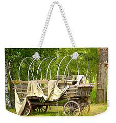 A Wagon Weekender Tote Bag