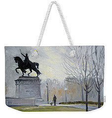 A Walk In Forest Park In St.louis Weekender Tote Bag by Irek Szelag
